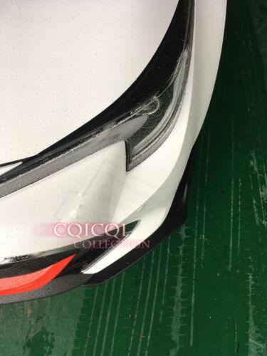 Matte Black 3pcs front spoiler for Toyota 2019~ Auris Corolla hatchback SE XSE ◎