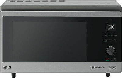 NEW LG MJ3966ASS NeoChef 39L 2150W Stainless Steel Convection Oven