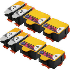 8 PK Compatible Ink 10B&10C for Kodak 10XL ESP Office 6150, Hero 6.1  7.1  9.1