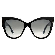 tom ford womens anoushka sunglasses in shiny black ft0371 01b 57
