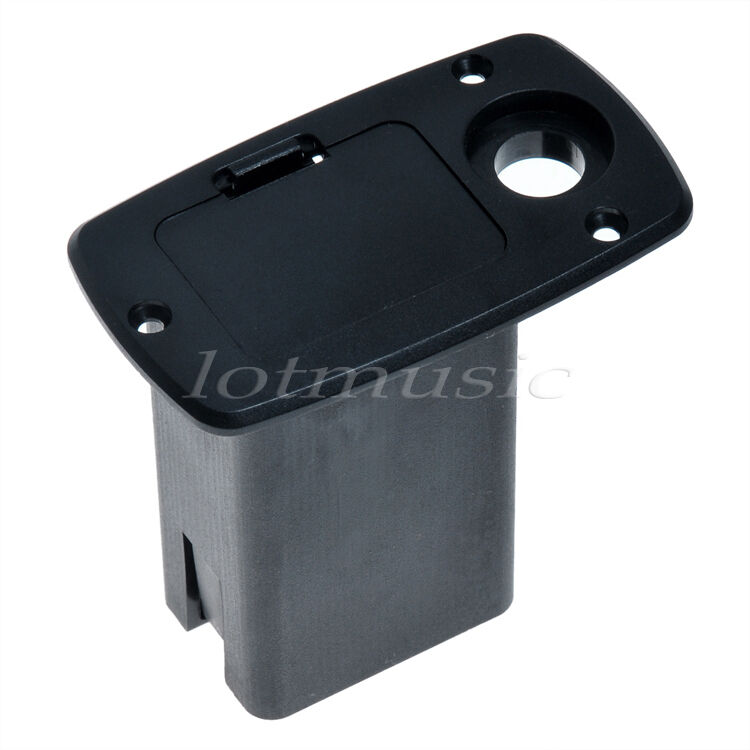 9v battery box holder square guitar active electronics