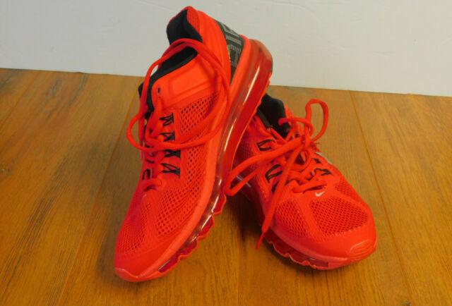 Nike Air Max Mens Shoes 2013 Pimento Red Reflect Sz 13 Silver Black 90 95