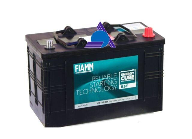 Batteria Fiamm 110Ah 850A Energy Cube Rst - Daily CB110RST *Spedizione Inclusa!*