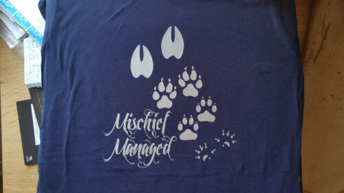 Harry Potter Mischief Managed women/'s T-shirt available in 5 colours sizes S-XXL