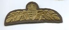 Hungary Hungarian Republic Army Officer Branch Insignia Wing Patch Badge Bullion