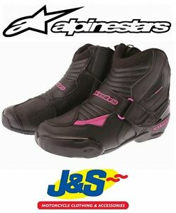 1b6077c233 ALPINESTARS STELLA SMX 1 R LADIES ANKLE MOTORCYCLE BOOTS SHORT SHOES ...