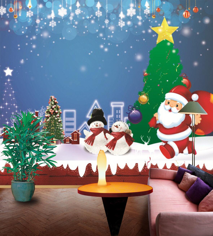 3D Weihnachten Sterne 62 Tapete Tapeten Mauer Foto Familie Tapete Wandgemälde DE