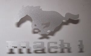 set-of-2-Ford-Mustang-PONY-Mach1-Etched-Glass-Vinyl-Sticker-logo-decal