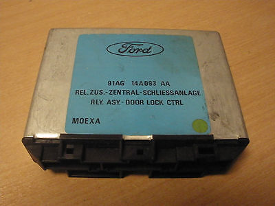 Ford Escort Orion 90-95 91AG14A093AA 618541 Door lock control relay module