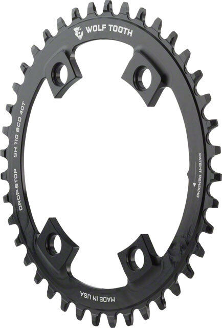 New Wolf Tooth Components 42T Drop-Stop Chainring  for Shimano Road 110