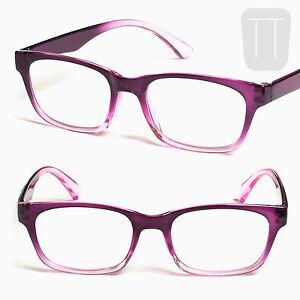 READING-GLASSES-Multi-pack-PURPLE-Pink-Rimmed-Readers-Geek-1-5-2-2-5-3