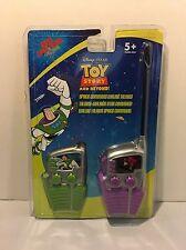 Disney Pixar Toy Story And Beyond Walkie Talkies Buzz Zerg Toy (New)