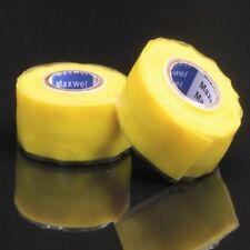 Waterproof Silicone Repair Tape Bonding Rescue Wire Hose Yellow HOT SALE