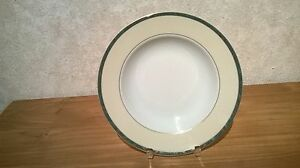 GUY DEGRENNE *NEW* Feuillage Vert 1 Assiette creuse aile 22cm Plate wSUF20lU-09092647-422848103