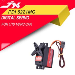 JX-PDI-6221MG-360-4-8V-6V-Large-Torque-Servo-For-1-10-1-8-RC-Car-Truck-Model