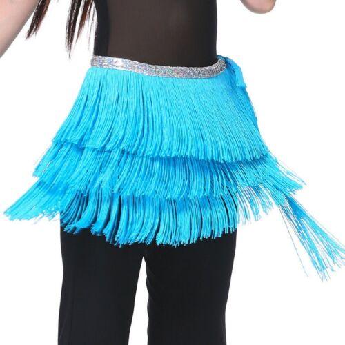 New Belly Dance Costume Hip Scarf Belt Tribal Fringe Tassel wrap Belt 10 colors