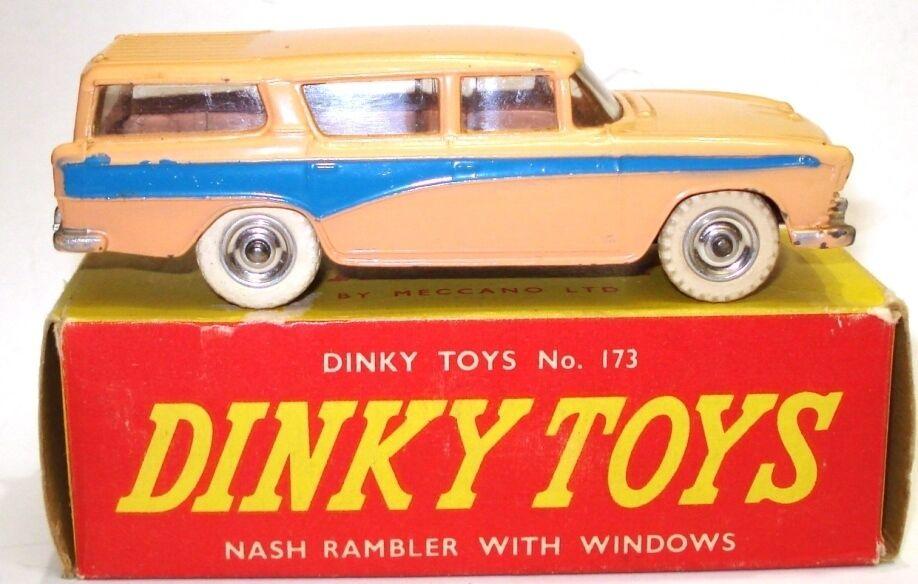 DINKY NO. 173 NASH RAMBLER  WAGON - EXC. BOXED  meilleure réputation