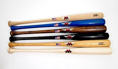 """3  PACK M^POWERED PRO SELECT 32.5/""""  MAPLE BATS FOR $199 DELIVERED* NO FREIGHT"""