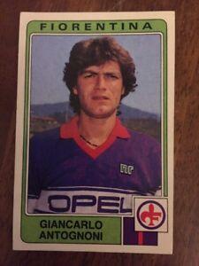 FIGURINA-STICKER-CALCIATORI-PANINI-1984-85-N-113-FIORENTINA-ANTOGNONI-NEW