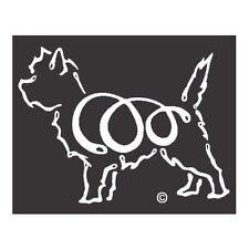 Cairn Terrier K-Lines Dog Car Window Tattoo Decal Sticker