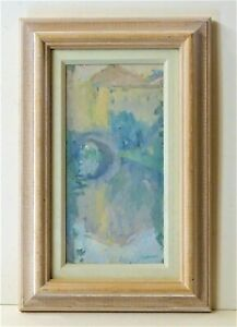 Martin Yeoman NEAC original oil painting French landscape signed framed art