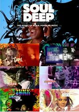 SOUL DEEP: THE STORY OF BLACK POPULAR MUSIC - 2 DVD SET - BBC MUSIC DOCUMENTARY