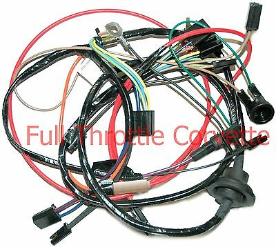 1977 Late Corvette Air Conditioning Ac Wiring Harness