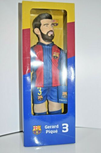 Gerald Pique FC Barcelona Soccer Realistic Action Figure Player Football Toy