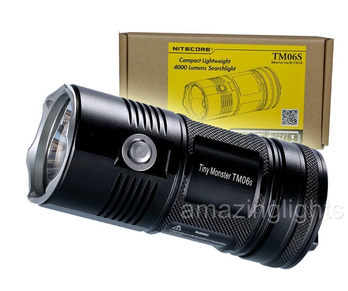 NiteCore TM06S 4000 Lumen 393 Yards Super LED Flashlight   - Upgrade of TM06 TM26  on sale 70% off