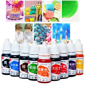 Details about Edible Pigment Coloring Dye Colorant Food Cake Handmade  Kitchen Baking Supplies