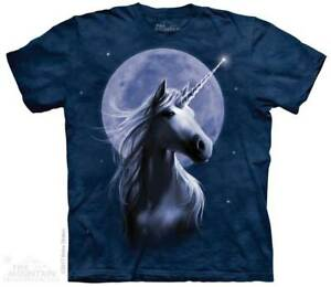 Starlight-T-Shirt-by-The-Mountain-Unicorn-In-Moonlight-Tee-Sizes-S-5XL-NEW