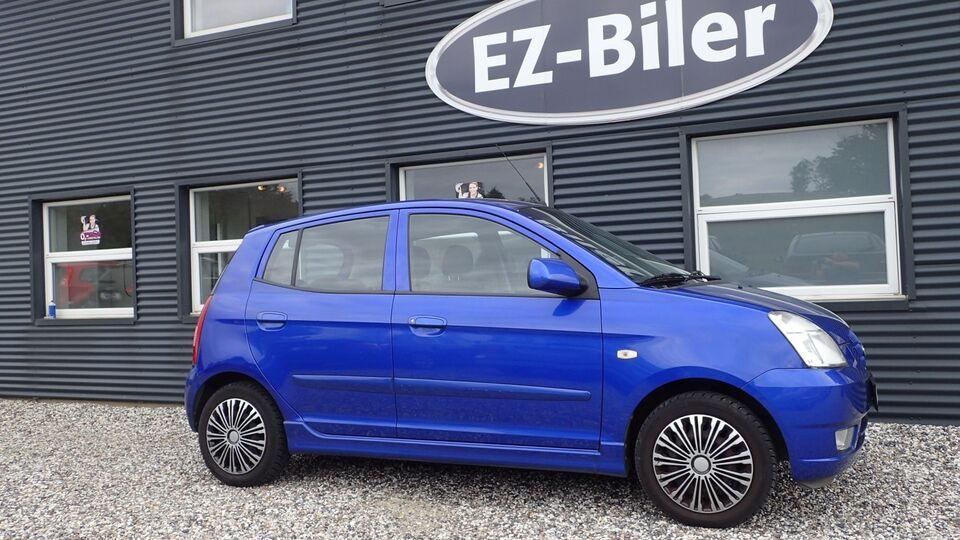 Kia Picanto 1,0 EX Benzin modelår 2007 km 116000 Blåmetal
