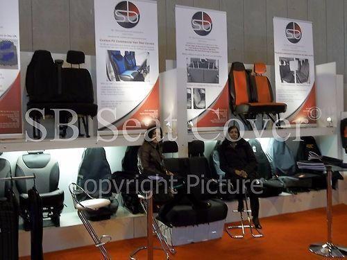 schwarz//grau I Kunstleder passend für CHEVROLET TRAX Auto Sitzbezüge