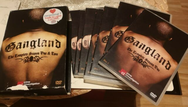 Gangland: The Complete Seasons One and Two DVD (2010) cert E Fast and FREE P & P