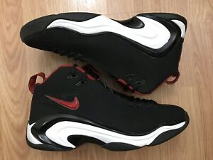 312545 12 Pippen Black Qs Men's 061 2 Details Varsity Red Nike Ii Rare Air Size About White 34Rj5AqL