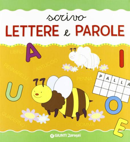 Scrivo lettere e parole 3+ - G. Donati - Libro nuovo in offerta !