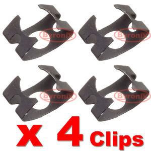 VW-AUDI-SEAT-SKODA-BRAKE-HOSE-LINE-RETAINING-SPRING-CLIP-METAL-CLAMP-X-4