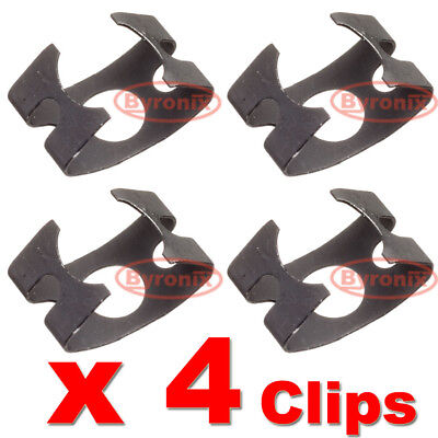 FITS MOST MODELS SET OF 4 VOLVO BRAKE HOSE RETAINING CLIPS FRONT AND REAR