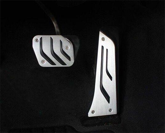No drilling Fuel Brake Pedal Pad Covers M BMW 3 4 5 Series GT F10 F34 F32 Z4 E85