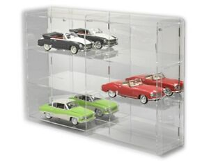 Image Is Loading SORA Model Car Display Cabinet 1 18 Back
