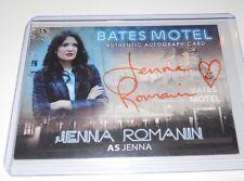 Bates Motel Autograph Trading Card Jenna Romanin as Jenna #AJR (Orange)