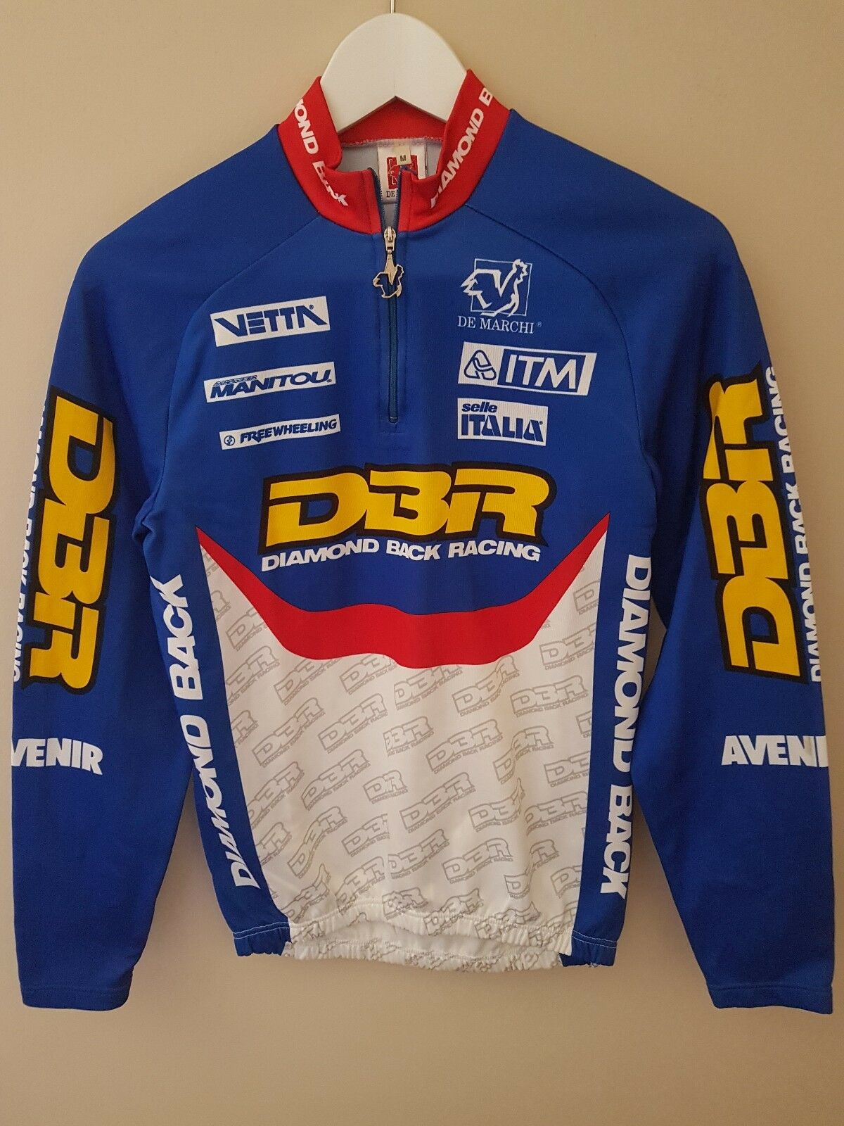 Maillot ciclismo mtb diamond back racing dbr nos vintage Dimensione m