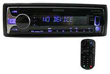 Kenwood KDC-BT565U CD/MP3 In Dash Car Player USB/Aux Receiver Bluetooth Audio