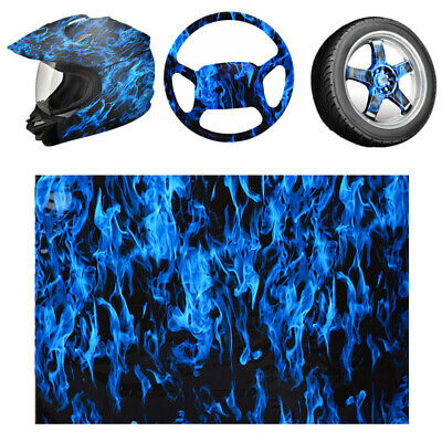 FANGff Water Transfer Film Home PVA Blue Hydrographics Film Water Transfer Printing,for use on Automotive Parts Rims Cups,Electric Guitar Guard and More