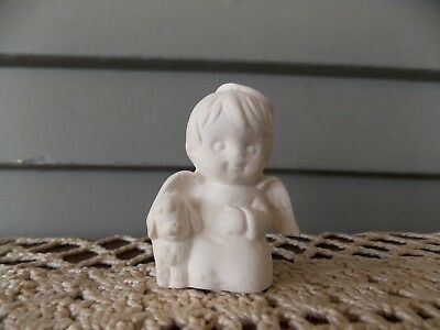 Nativity Sitting Shepard 4 Ceramic Bisque Ready to Paint