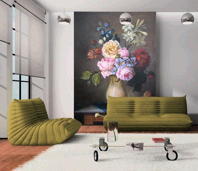 3D Glamouröse PfingstRosa 86  Tapete Wandgemälde Tapete Tapeten Bild Familie DE  | Spielzeugwelt, spielen Sie Ihre eigene Welt  | Rich-pünktliche Lieferung  | Offizielle