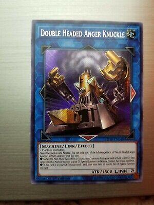 X3 YUGIOH DOUBLE HEADED ANGER KNUCKLE BLHR-EN048 SECRET RARE 1ST