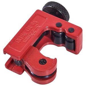 Mini herramienta cortador de tubo freno corte tubo latón cobre recorrido 3-28mm