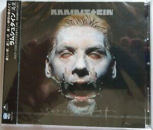 Rammstein-Sehnsucht-Japan-CD-2-Bonustracks-Englisch-POCP-7299-NEU-OVP