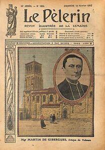 Portrait-Mgr-Martin-de-Gibergnes-Eveque-de-Valence-France-1912-ILLUSTRATION
